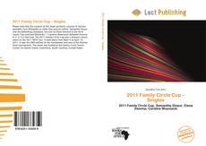 Portada del libro de 2011 Family Circle Cup – Singles