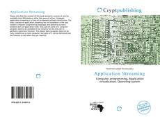 Bookcover of Application Streaming