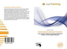 Buchcover von Archduchess Gisela of Austria