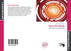 Bookcover of Case Sensitivity