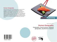 Bookcover of Human Geography