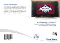 Обложка College City, Arkansas