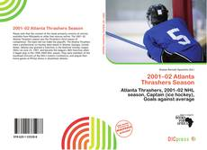 2001–02 Atlanta Thrashers Season的封面