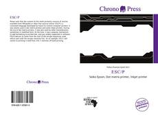 Bookcover of ESC/P