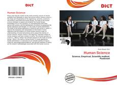 Bookcover of Human Science