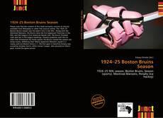 Portada del libro de 1924–25 Boston Bruins Season