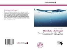 Bookcover of Honolulu Challenger