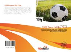 Portada del libro de 2006 Copa del Rey Final