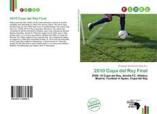 Portada del libro de 2010 Copa del Rey Final