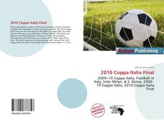 Bookcover of 2010 Coppa Italia Final