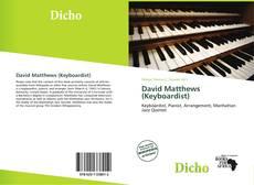 Portada del libro de David Matthews (Keyboardist)