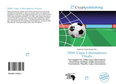 Bookcover of 2006 Copa Libertadores Finals