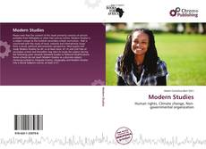 Bookcover of Modern Studies