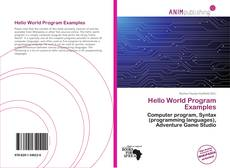 Hello World Program Examples的封面