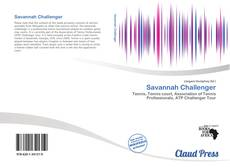 Bookcover of Savannah Challenger