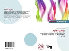 Yakov Zayka kitap kapağı