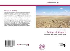 Capa do livro de Politics of Memory