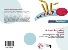Bookcover of Antigua Recreation Ground