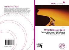 Buchcover von 1986 Bordeaux Open