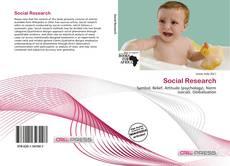 Social Research kitap kapağı