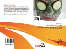 Social Simulation kitap kapağı