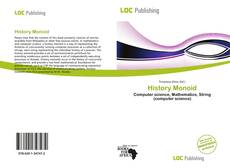 Bookcover of History Monoid