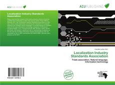 Bookcover of Localization Industry Standards Association