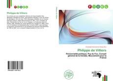 Portada del libro de Philippe de Villiers