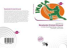 Bookcover of Newlands Cricket Ground