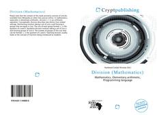 Bookcover of Division (Mathematics)