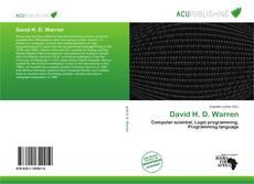 Buchcover von David H. D. Warren