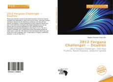 Bookcover of 2012 Fergana Challenger – Doubles