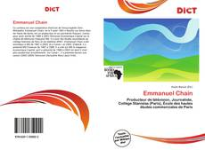 Bookcover of Emmanuel Chain