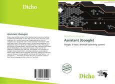 Bookcover of Assistant (Google)