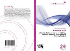 Bookcover of Ernest Koliqi