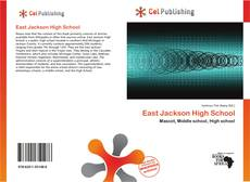 Bookcover of East Jackson High School