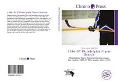 Bookcover of 1996–97 Philadelphia Flyers Season