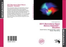 Capa do livro de 2011 Barcelona Open Banco Sabadell – Doubles