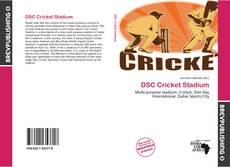 DSC Cricket Stadium kitap kapağı