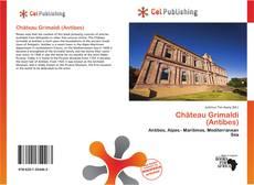 Portada del libro de Château Grimaldi (Antibes)