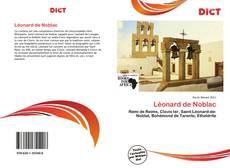 Couverture de Léonard de Noblac