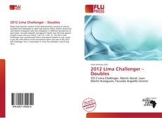 Bookcover of 2012 Lima Challenger – Doubles
