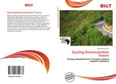 Bookcover of Cycling Demonstration Towns