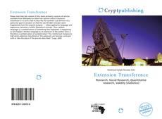 Copertina di Extension Transference