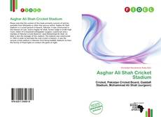 Capa do livro de Asghar Ali Shah Cricket Stadium
