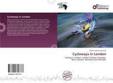 Cycleways in London kitap kapağı