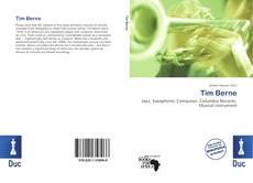 Buchcover von Tim Berne