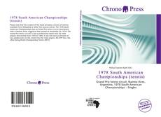 Copertina di 1978 South American Championships (tennis)