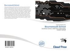 Bookcover of Bournemouth School