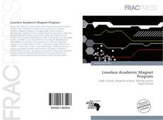 Обложка Loveless Academic Magnet Program
